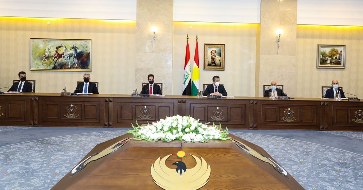 Prime Minister Masrour Barzani convenes Council of Ministers on reform...
