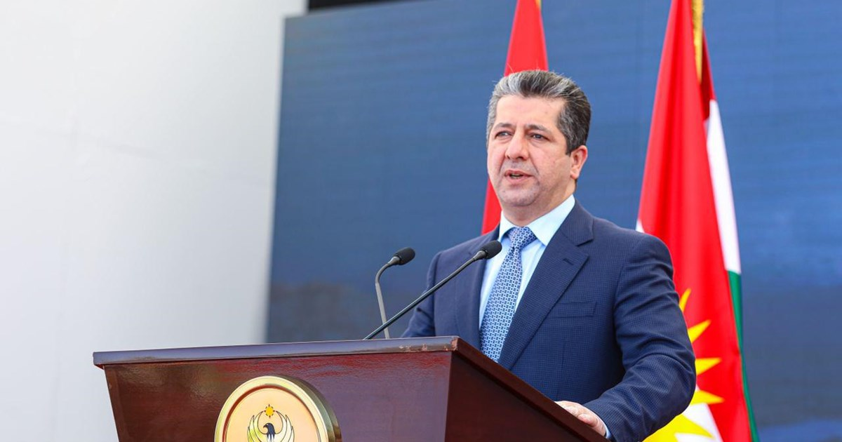 Prime Minister Masrour Barzani marks official start of construction on...