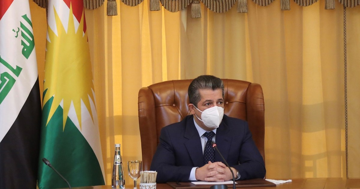 Prime Minister Masrour Barzani meets with High Level Committee on...