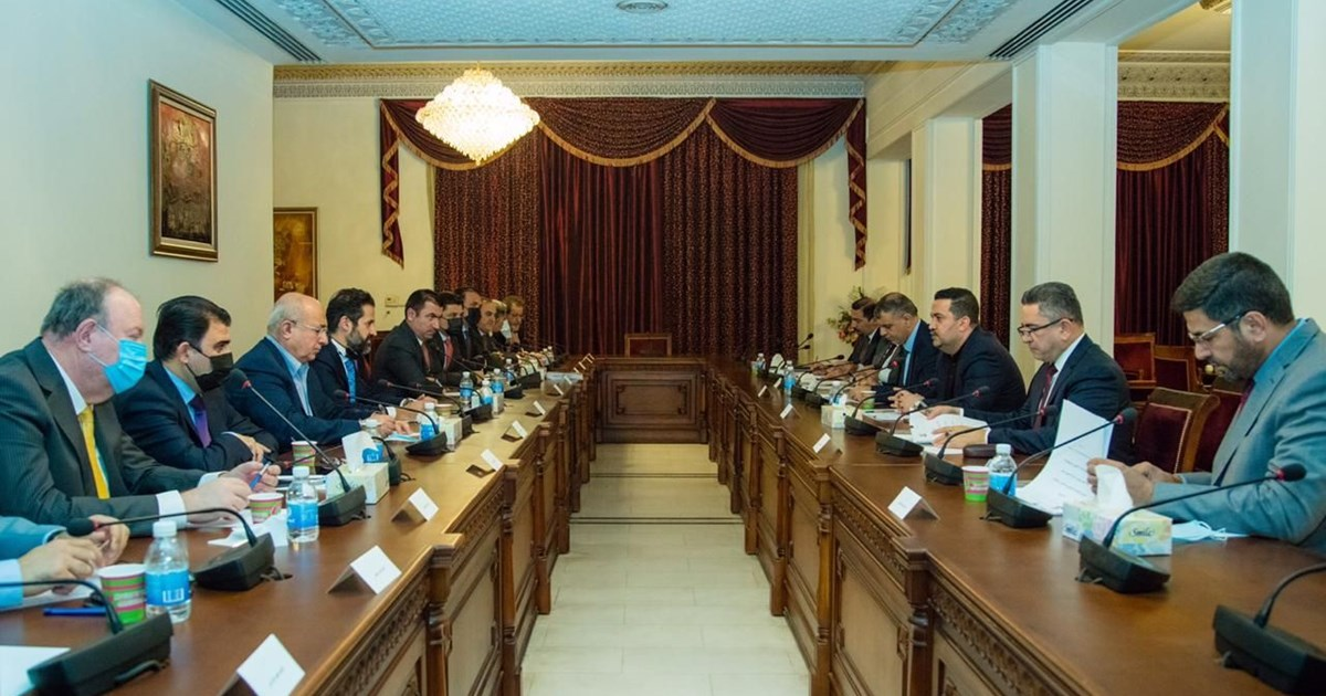 Kurdistan Regional Government High-level Committee meets with federal authorities...