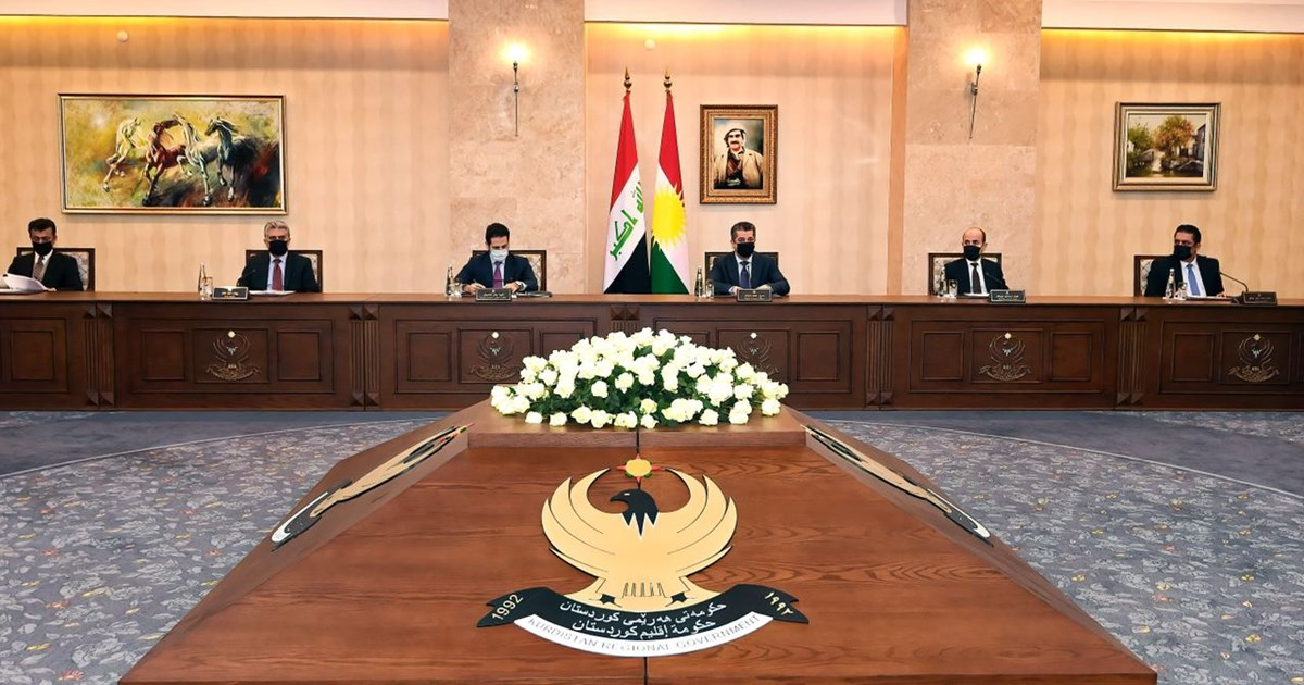 Kurdistan Regional Government Council of Ministers convenes on dialogue with Baghdad