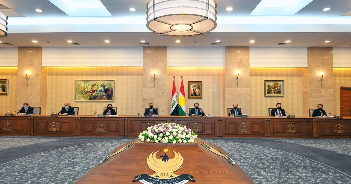 Council of Ministers convenes on 2021 Kurdistan Region budget bill...